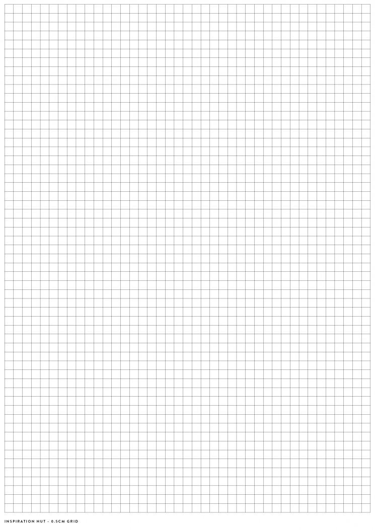 graph paper grid size