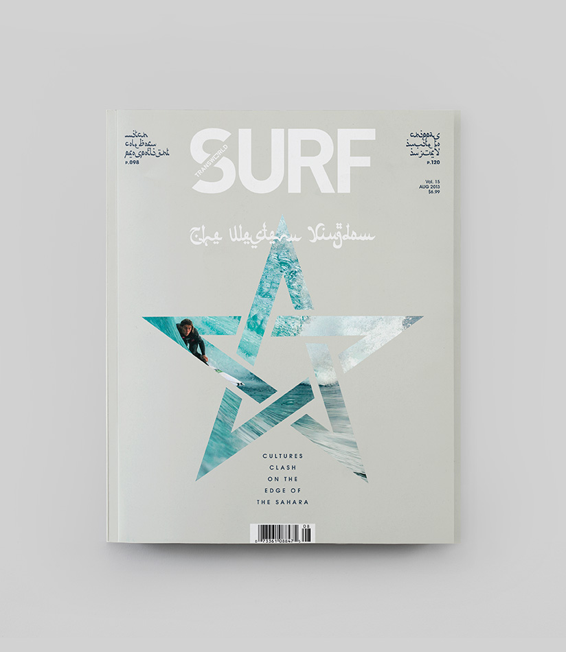 transworld surf magazine re-design