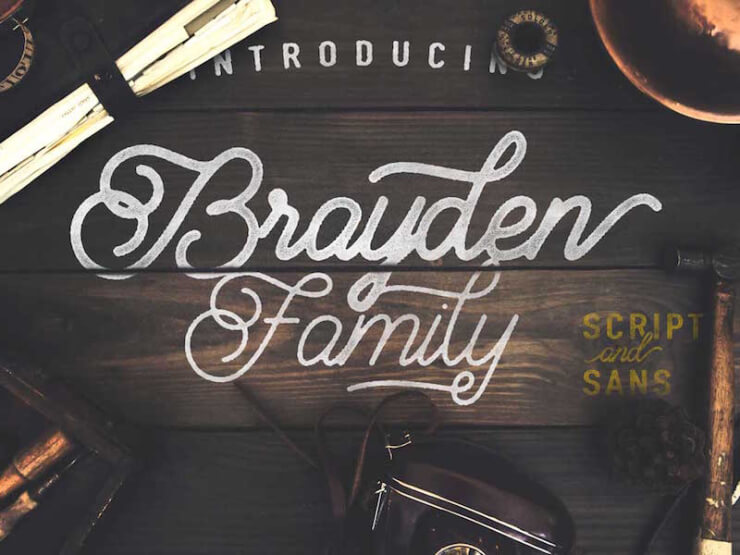Brayden Font Family Download