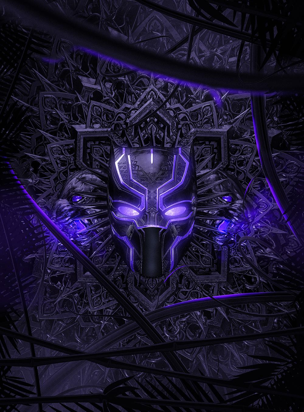 3d Dragon Eye Wallpaper Amazing Digital Illustrations For The Marvel Black Panther