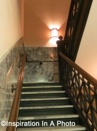 Illuminating a Stairwell with Sconces | Inspiration In A Photo