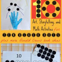 Ten Black Dots by Donald Crews {Virtual Book Club for Kids}