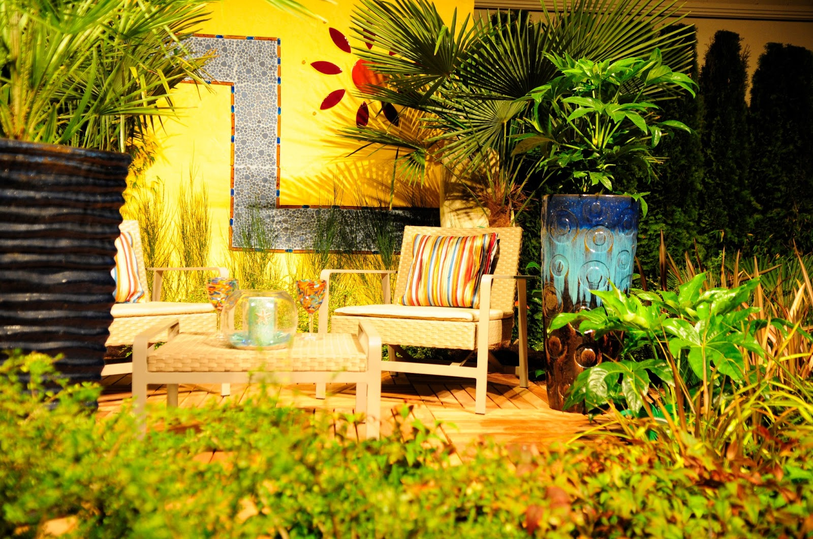 Dalle Galet Exterieur 10 Yellow Garden Ideas : Walls, Furniture Or Plants