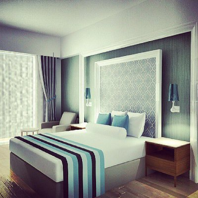 Headboard Wallpaper Ideas For The Bedroom - InspirationSeek.com