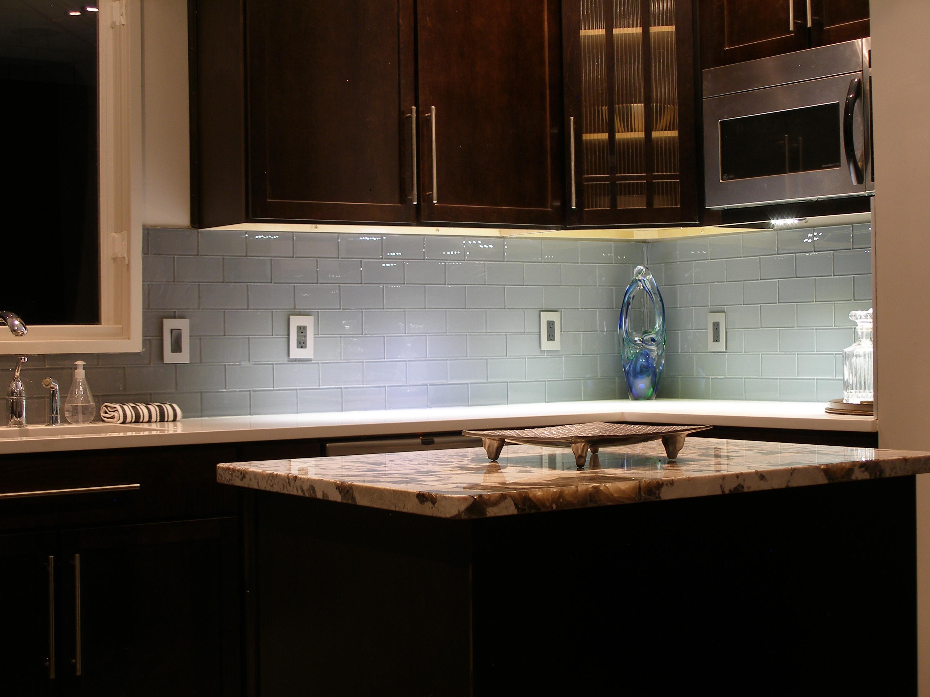 kitchen backsplash backsplash kitchen Glass Tile Grey Kitchen Backsplash Design