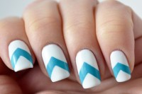 30 + Striped Nail Designs and Ideas - InspirationSeek.com