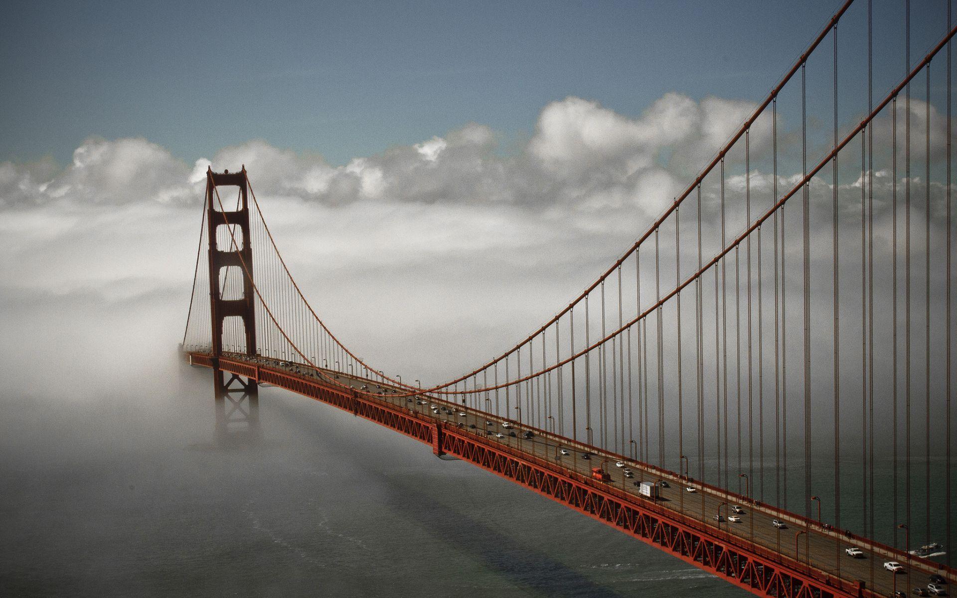 Building Construction Wallpaper Hd Golden Gate Bridge History Park And Photo Gallery