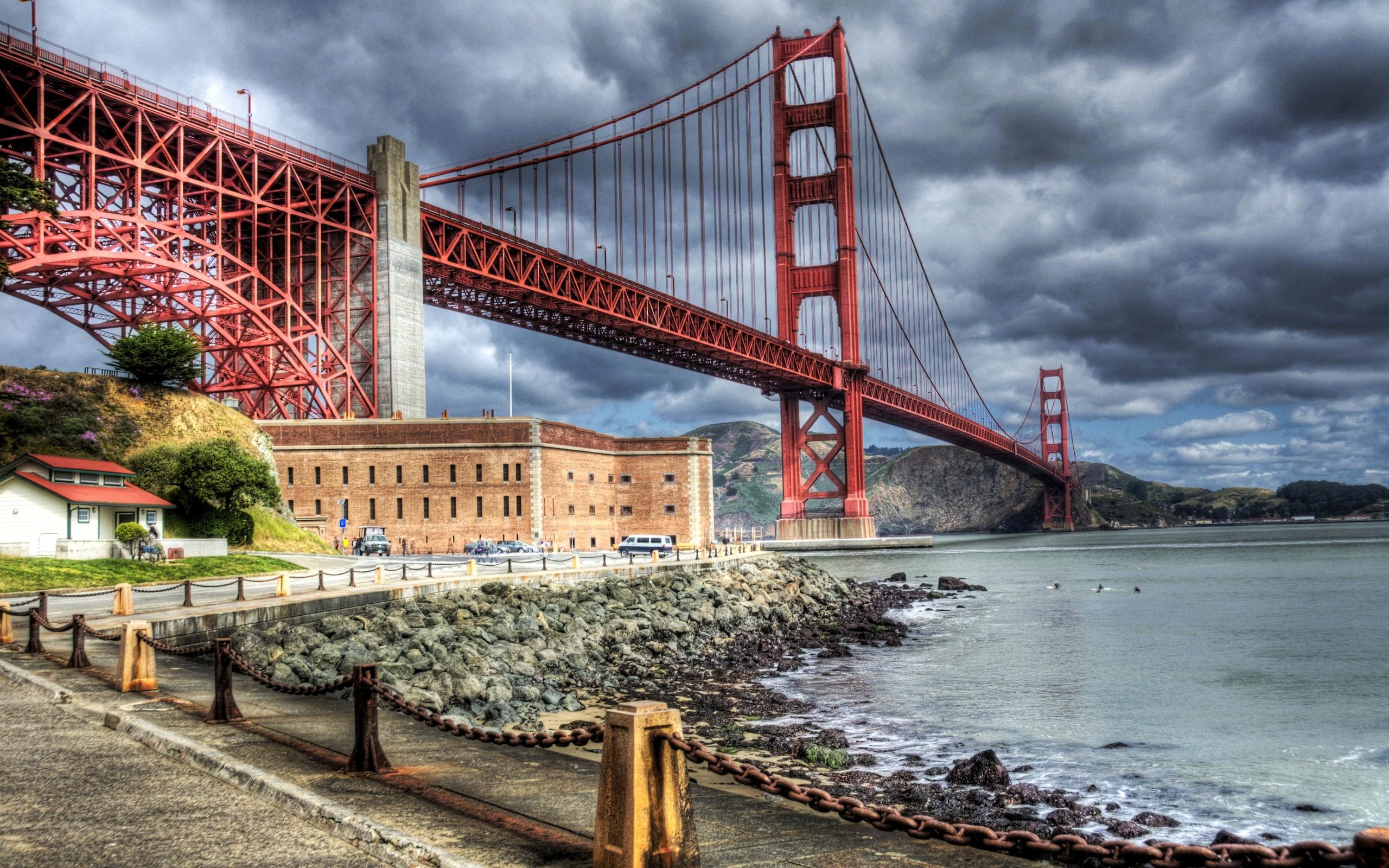 San Francisco Bridge Hd Wallpaper Golden Gate Bridge History Park And Photo Gallery