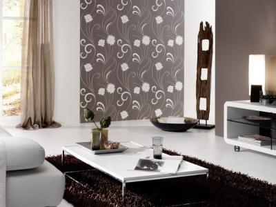 Wallpaper Design For Living Room that Can Liven Up The Room - InspirationSeek.com