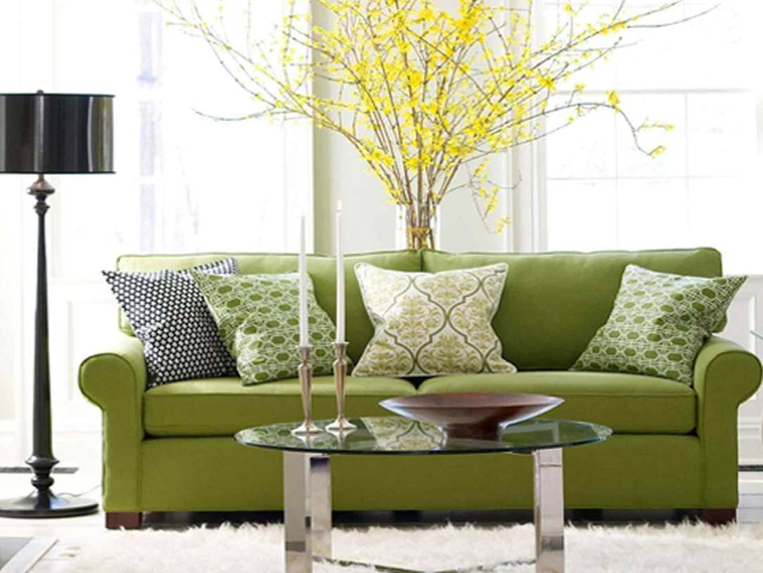 Green Settee Selecting The Dressage Cushions For Sofa Or Chairs