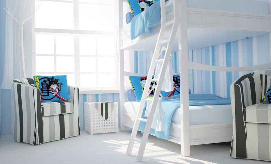 Round Bed Ikea Neutral Kids Room Interior Ideas To Avoid Gender Bias