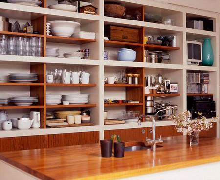 Feng Shui Open Shelves Ideas - InspirationSeek - open kitchen shelving ideas