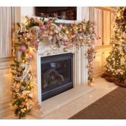 Small Crop Of Christmas Garland Ideas