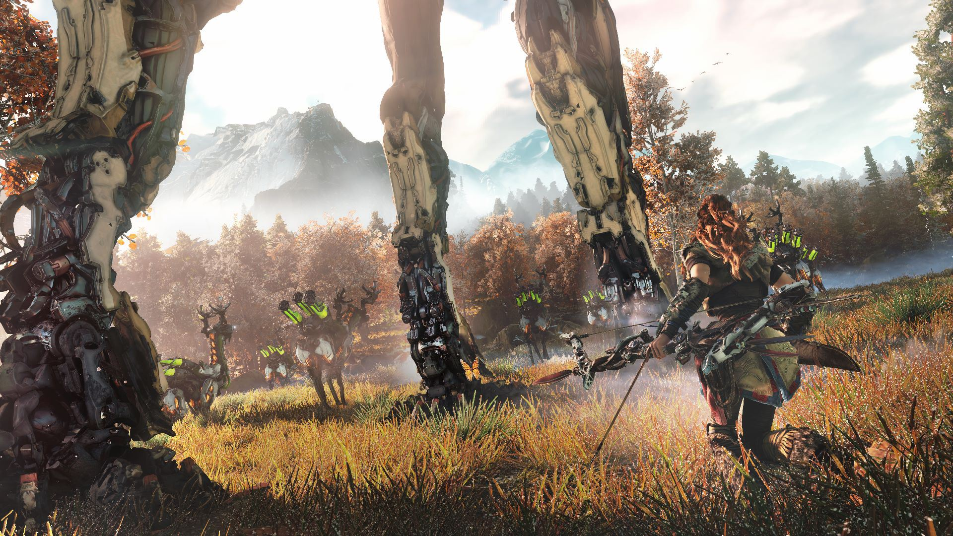 Hunting Iphone Wallpaper 10 Best Horizon Zero Dawn Wallpapers Hd Inspirationseek Com