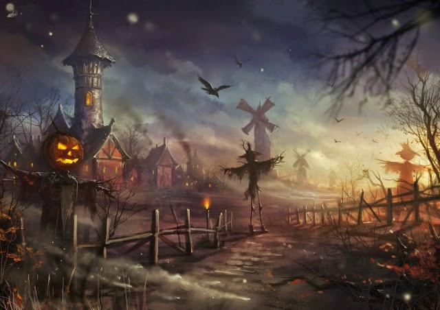 Pretty Girl Wallpaper Free Download 30 Halloween Artwork Ideas Inspirationseek Com