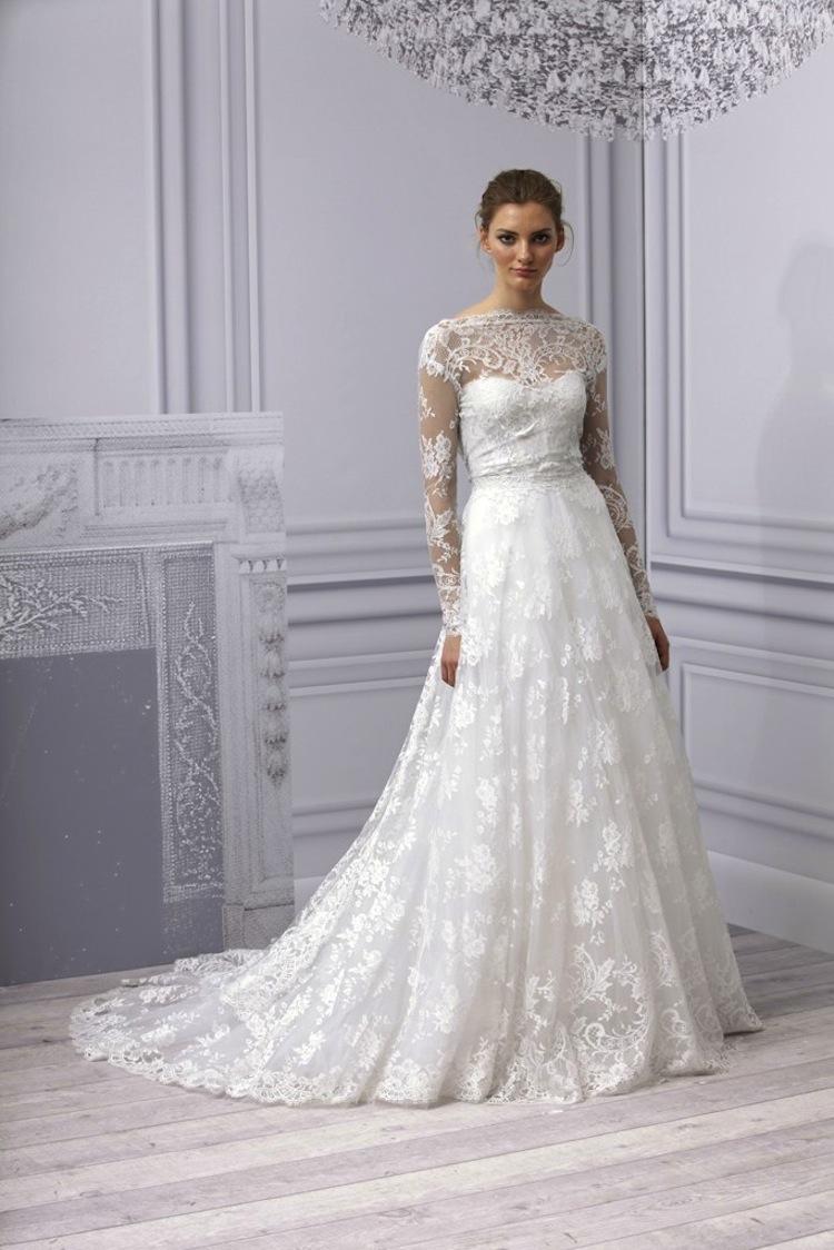 wedding trend sleeved wedding gowns sleeved wedding dresses Image