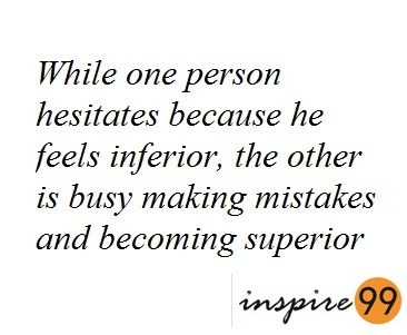 why should one make mistakes, importance of mistakes, what mistakes teach us, quote analysis