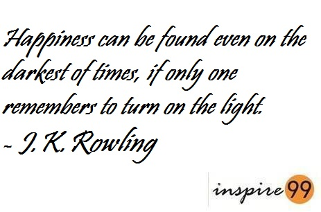 how to be happy, quote analysis happiness, quote analysis j.k.rowling, how is happiness a choice