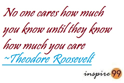 Quote Analysis, caring is more important than knowing, success, motivation, inspiration, life quotes