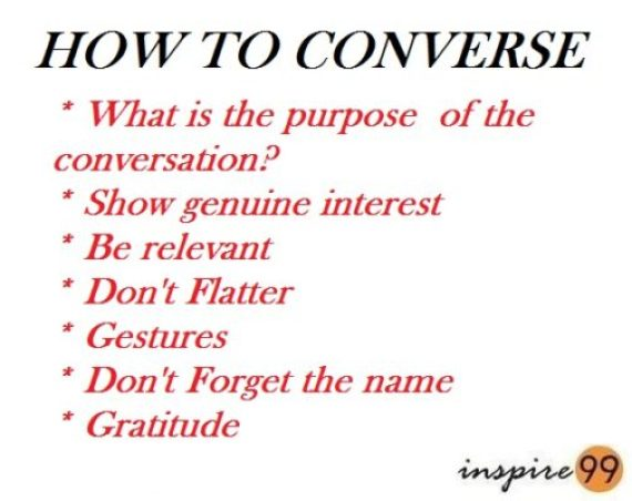 how to converse, how to communicate, talking to people, what to talk to people