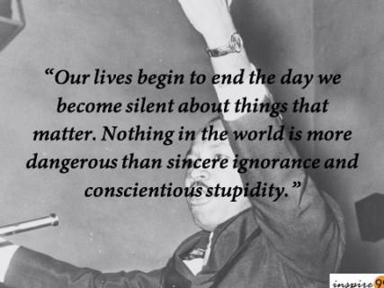 Martin luther king quote, martin luther king ignorance quotes, ignorance quotes