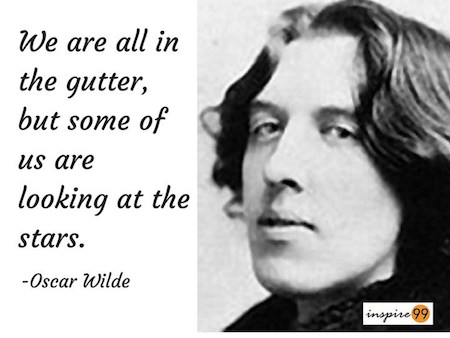 we are all in the gutter quote meaning, oscar wilde quote meaning, oscar wilde quote collection