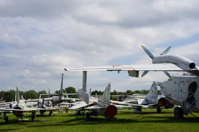 Russian Central Air Force Museum at Monino