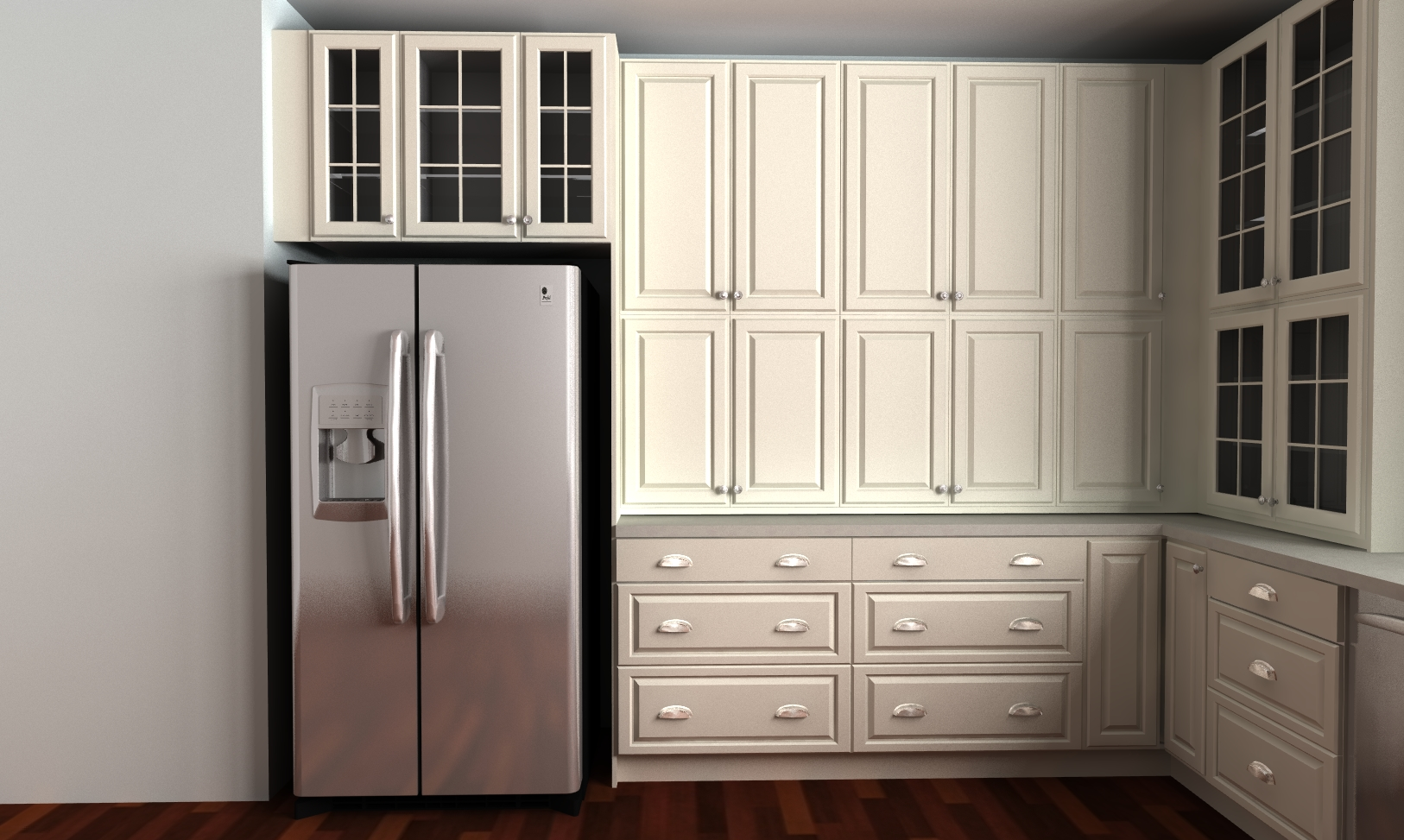 three questions to ask before hiring a professional to install an ikea kitchen install kitchen cabinets fridge wall