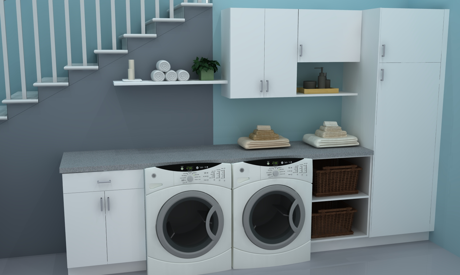 Laundry Room Ideas Ikea Useful Spaces A Practical Ikea Laundry Room