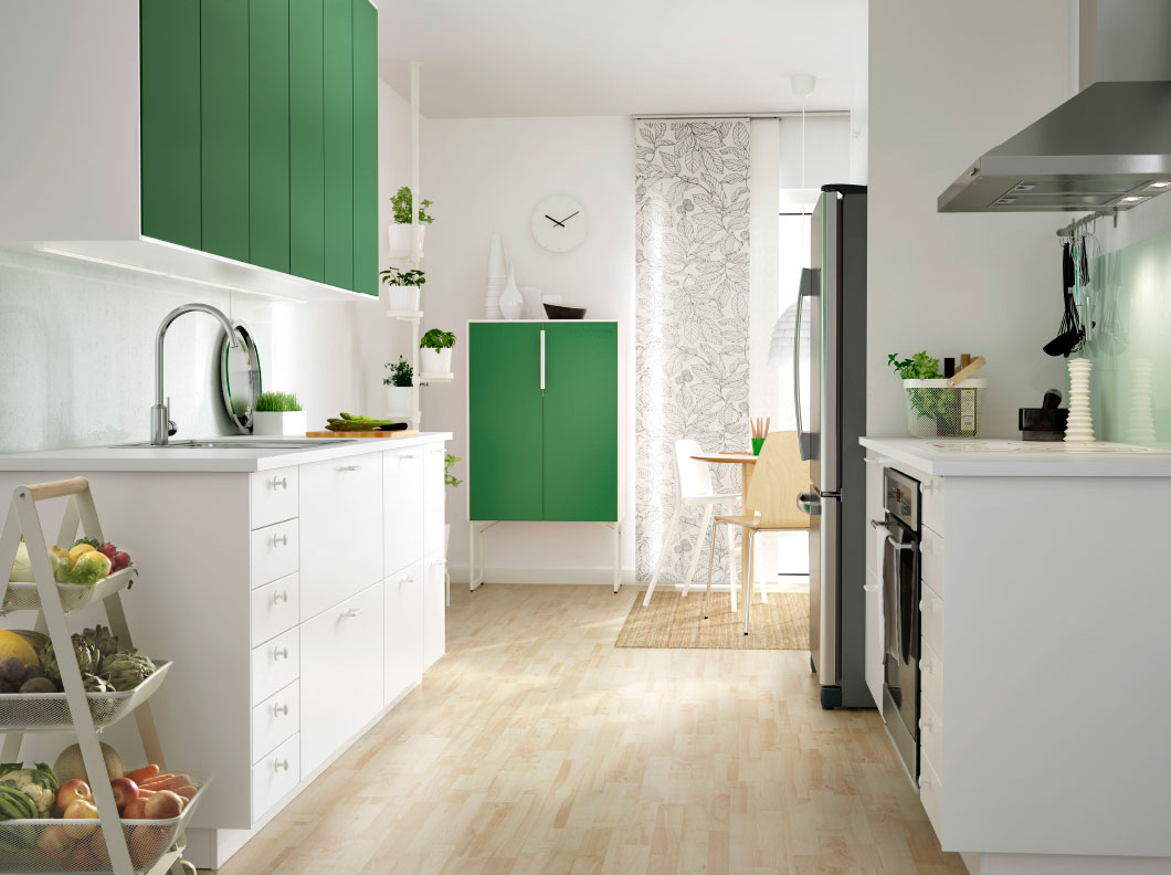 Ikea Küche Katalog 2015 Why The Little White Ikea Kitchen Is So Popular