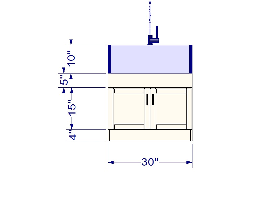 Ikea Kitchen Hack A Base Cabinet For Farmhouse Sinks And