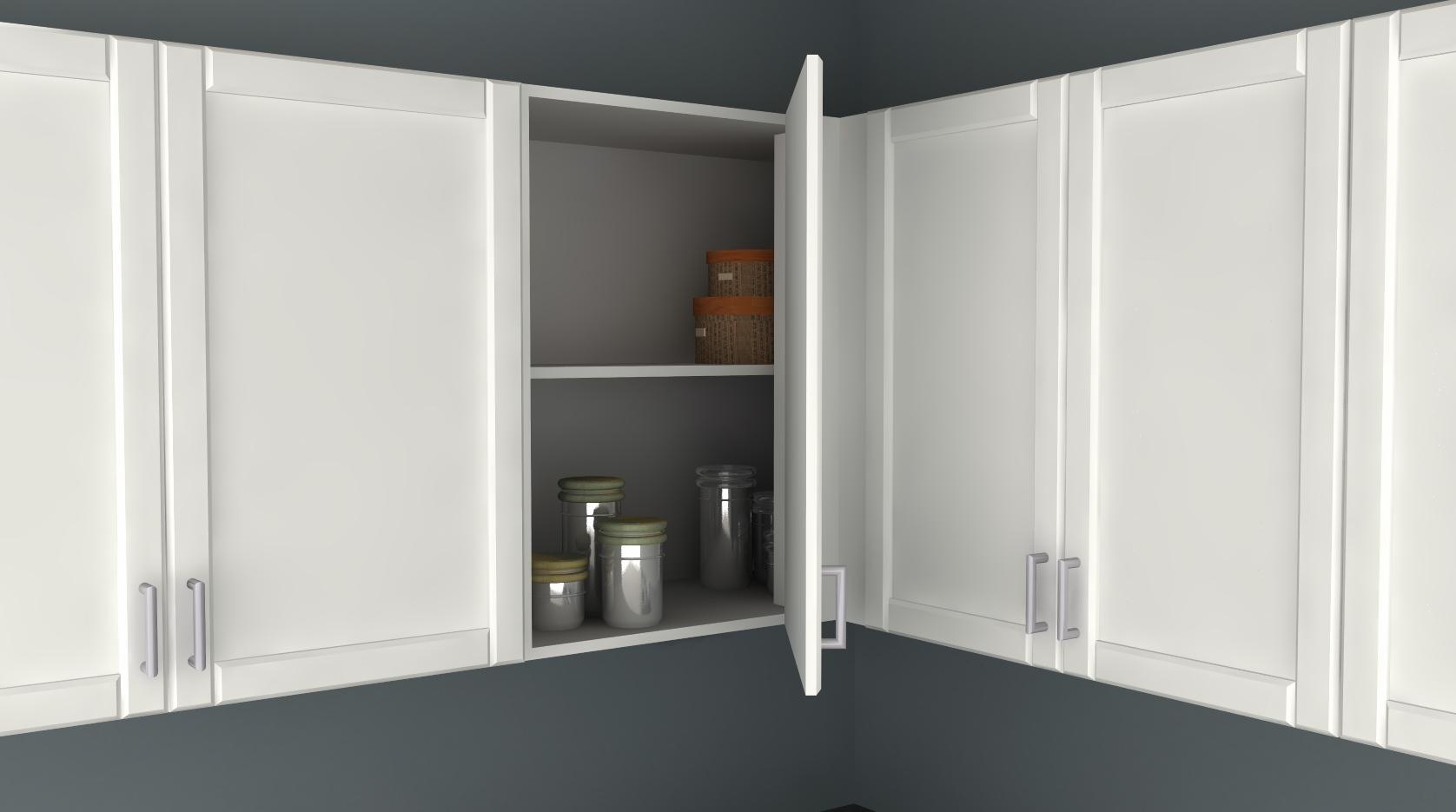 ikea kitchen hack blind corner wall cabinet kitchen cabinets ikea IKD ikea kitchen hack blind corner cabinet 1
