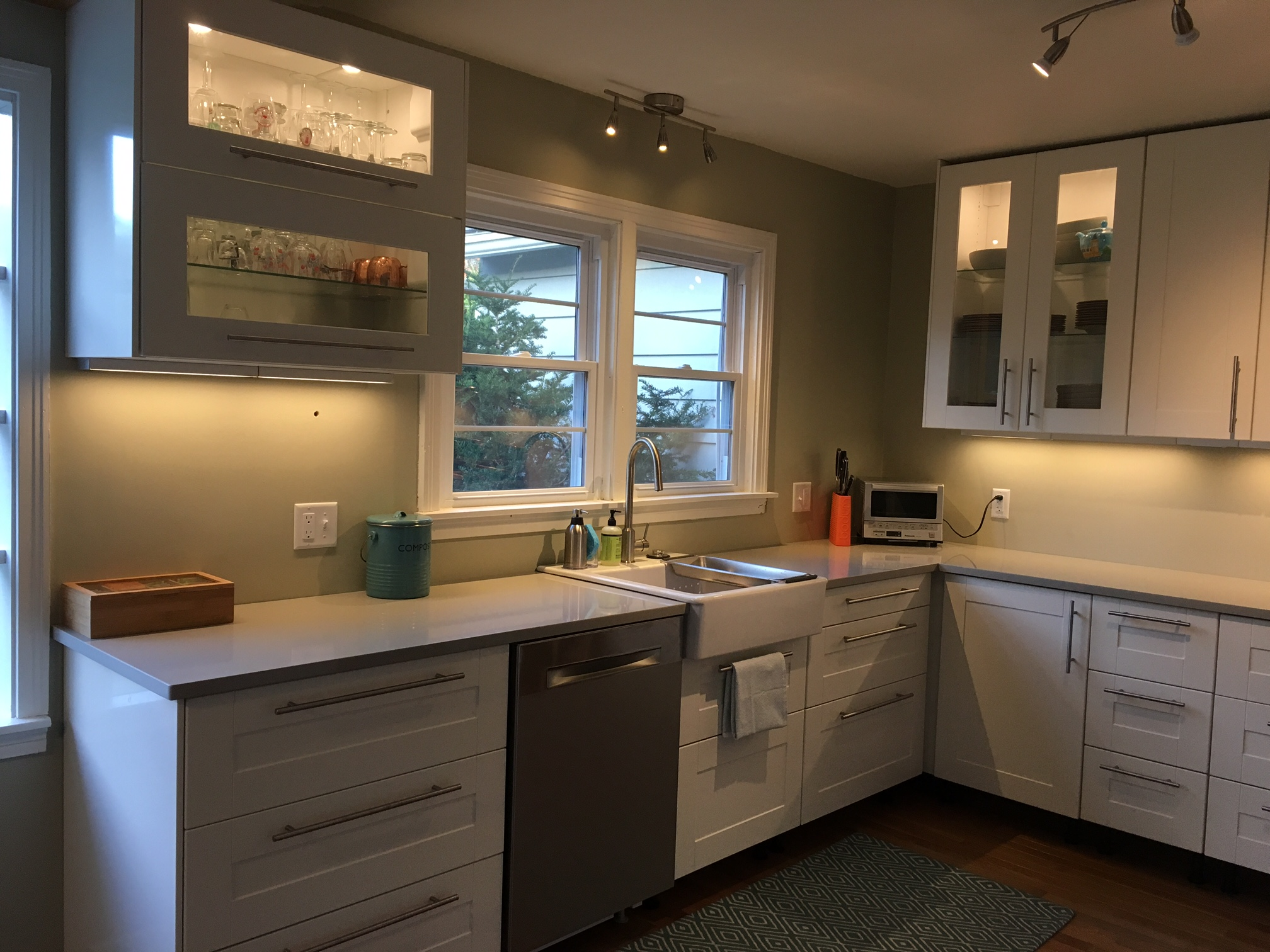 Ikea Off White Kitchen Cabinets A Gorgeous Ikea Kitchen Renovation In Upstate New York