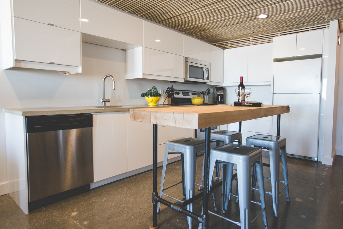 Wallpaper Magazine Kitchen Design A Bright And Warm White Ikea Kitchen In Yellowknife Canada