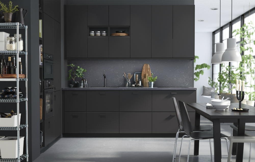 Kungsbacka Küchen Kungsbacka Is Ikea's New Kitchen Door Made From Recycled
