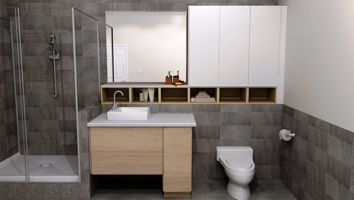 Designing Different Ikea Bathrooms With Ikea Sektion Cabinetry