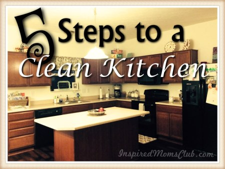 5 Steps to a Clean Kitchen