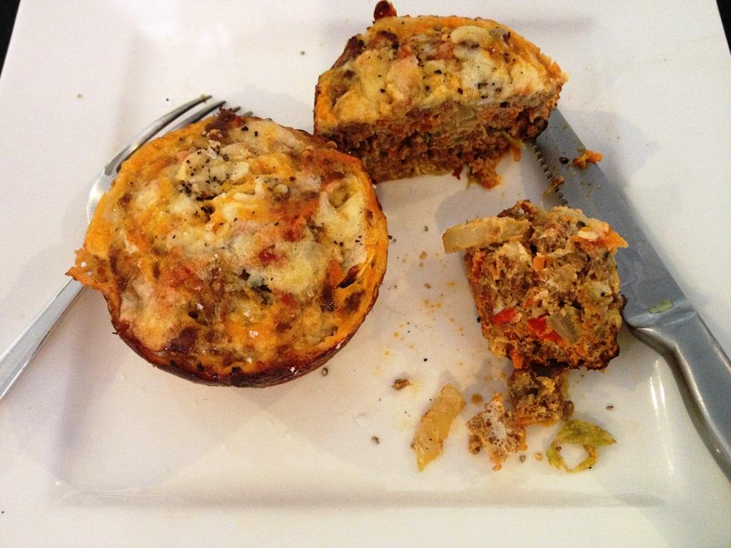 Savoury mince muffins
