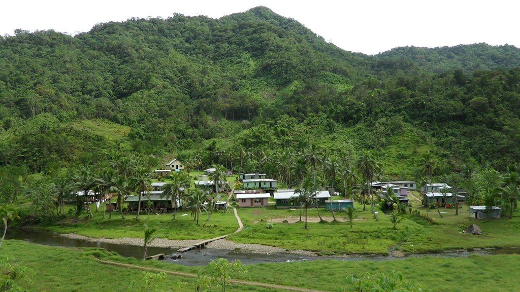 Village in the Namosi Highlands of Fiji
