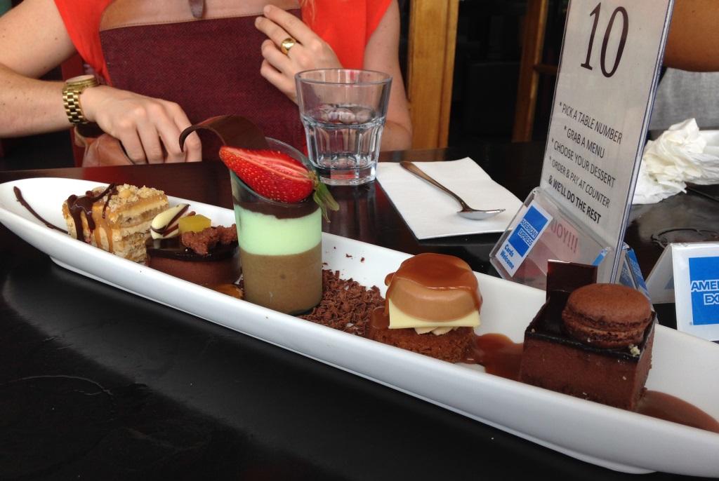 Sweet treats platter to share