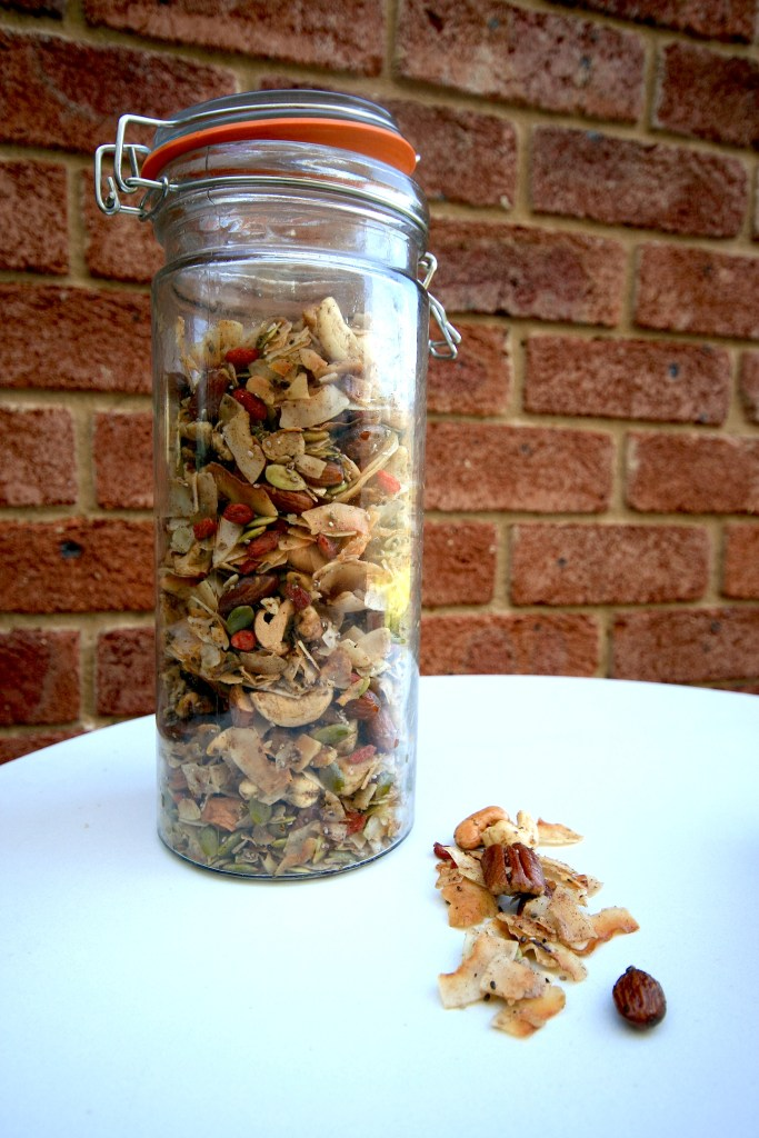 Paleo snack and trail mix