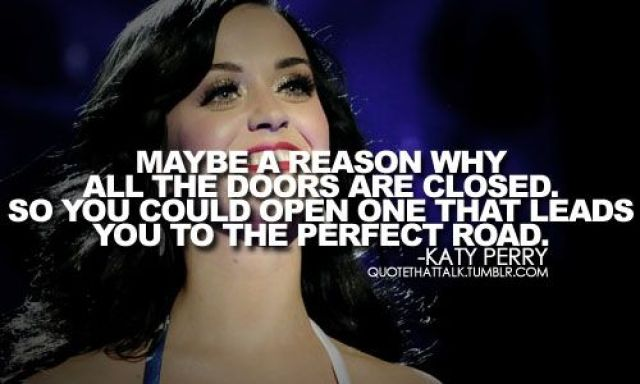 Katy Perry quote on  failure
