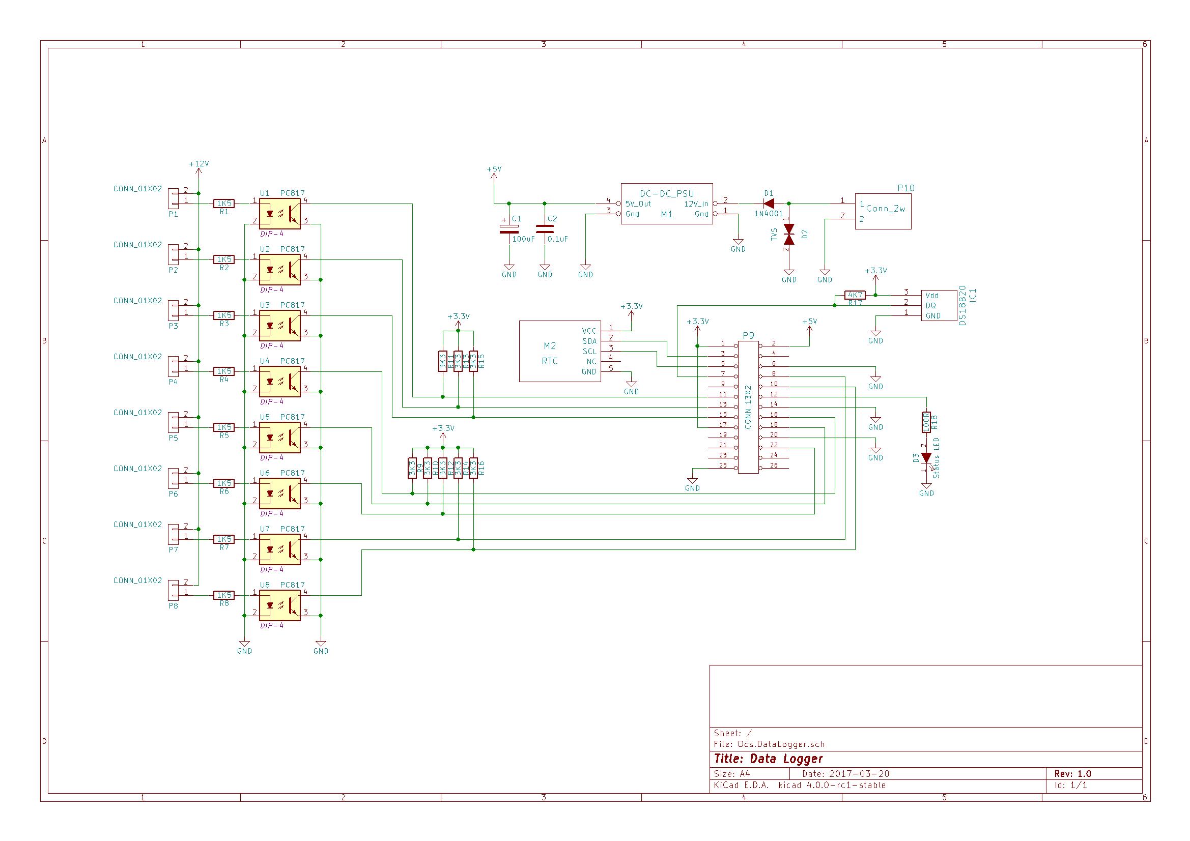 temperature logger using arduino