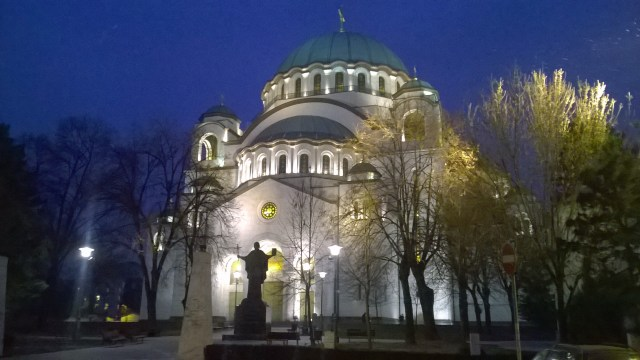 A long walk in Belgrade