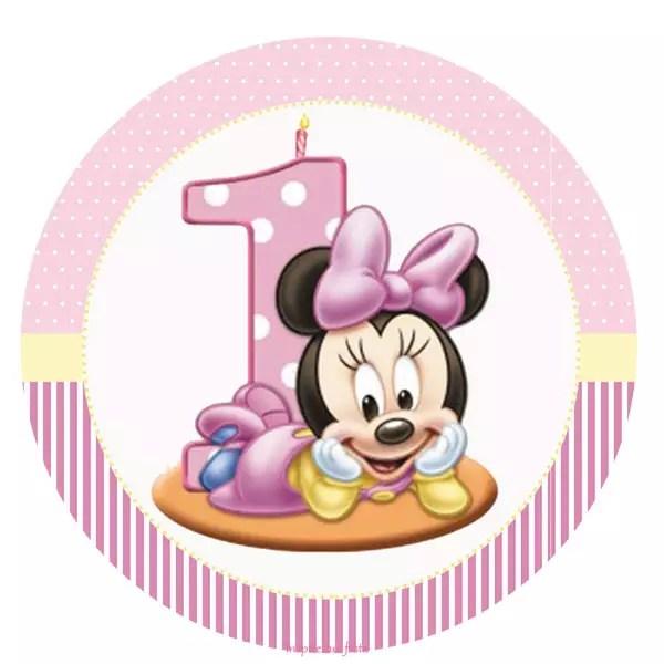 Minnie Baby   Kit Completo Com Molduras Para Convites, Rótulos   Birthday  Card Layout  Birthday Card Layout