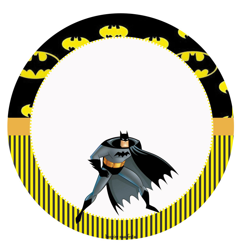 Cute Cupcake Wallpaper Batman Kit Festa Gr 225 Tis Para Imprimir Inspire Sua Festa