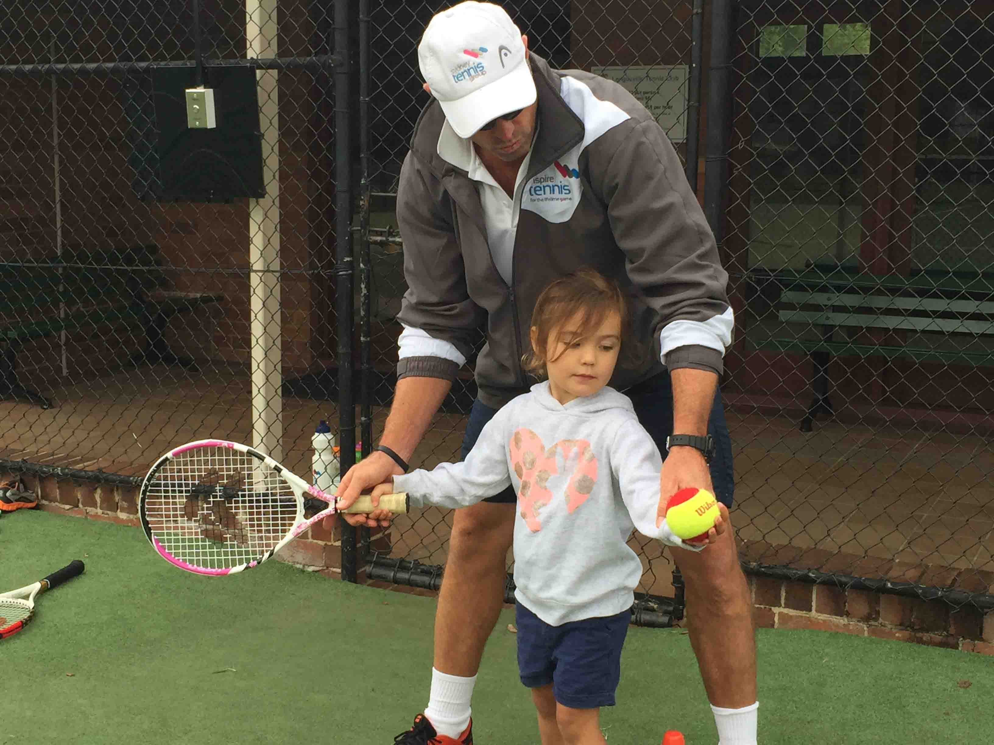 Tennis For Toddlers Tennis Lessons For Kids Inspire Tennis Sydney North Shore