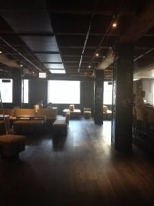 second floor Reverie sushi bar