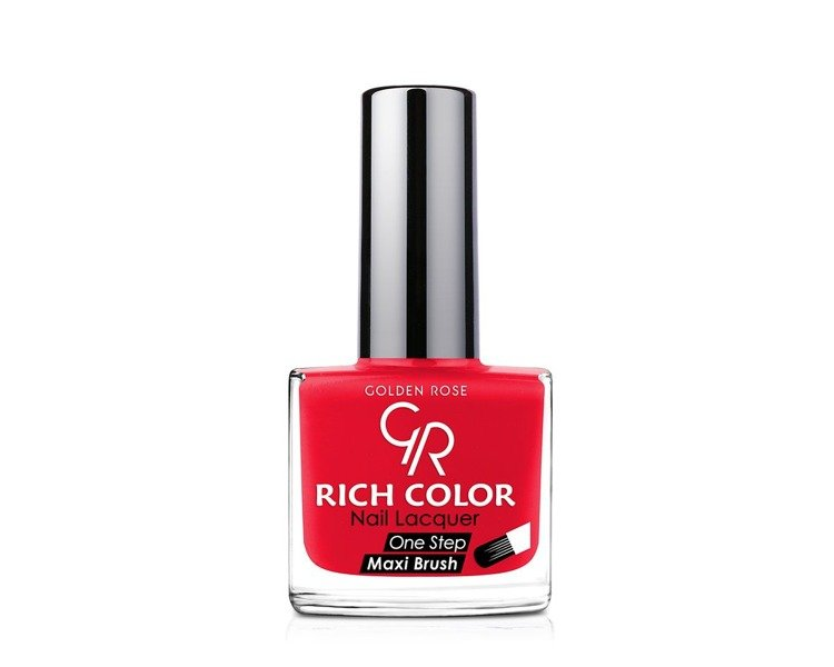 Golden Rose Rich Color Nail Lacquer Lakier Do Paznokci 121