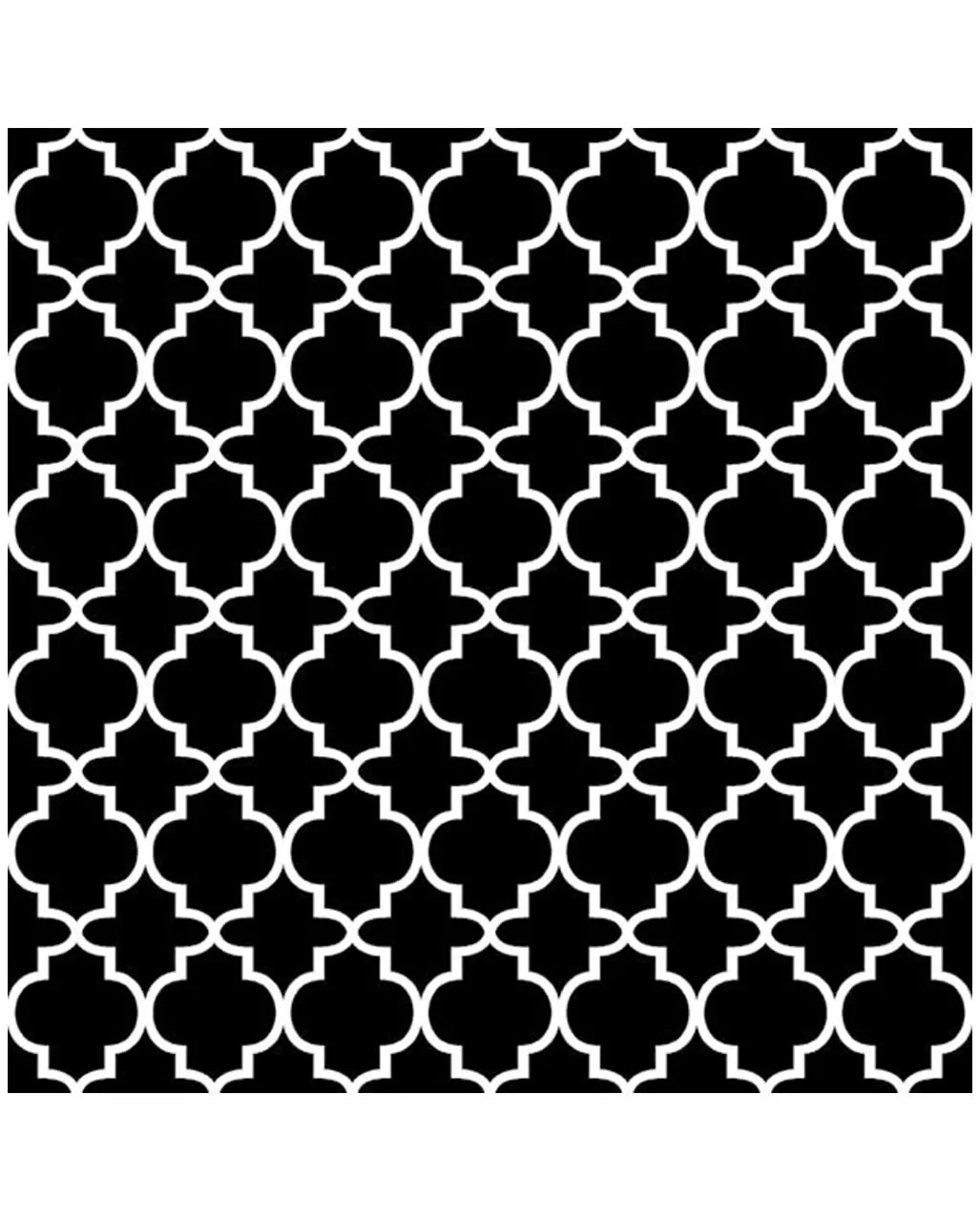 Serviette De Table Halloween Patterned Napkin Black And White 20 Pc